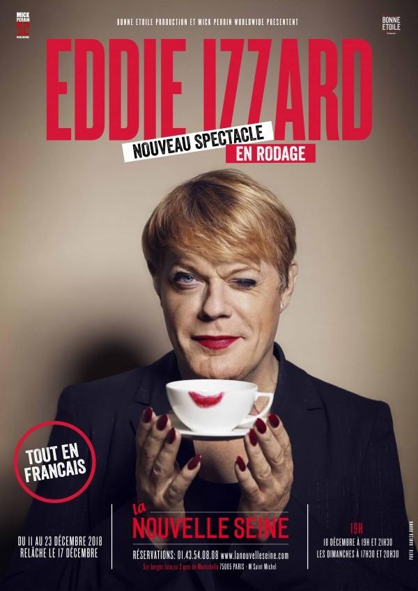 Eddie Izzard : En rodage à La Nouvelle Seine