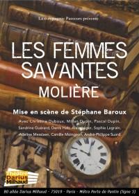 Les Femmes savantes au Théâtre Darius Milhaud