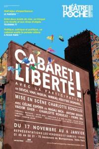 Cabaret liberté ! au Théâtre de Poche-Montparnasse