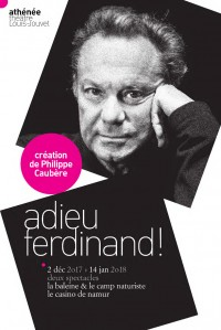 Adieu Ferdinand ! à l'Athénée - Théâtre Louis-Jouvet