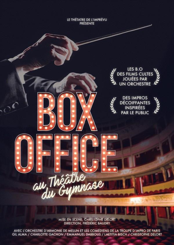 Box Office, le spectacle d'impro sur les films cultes ! au Théâtre du Gymnase