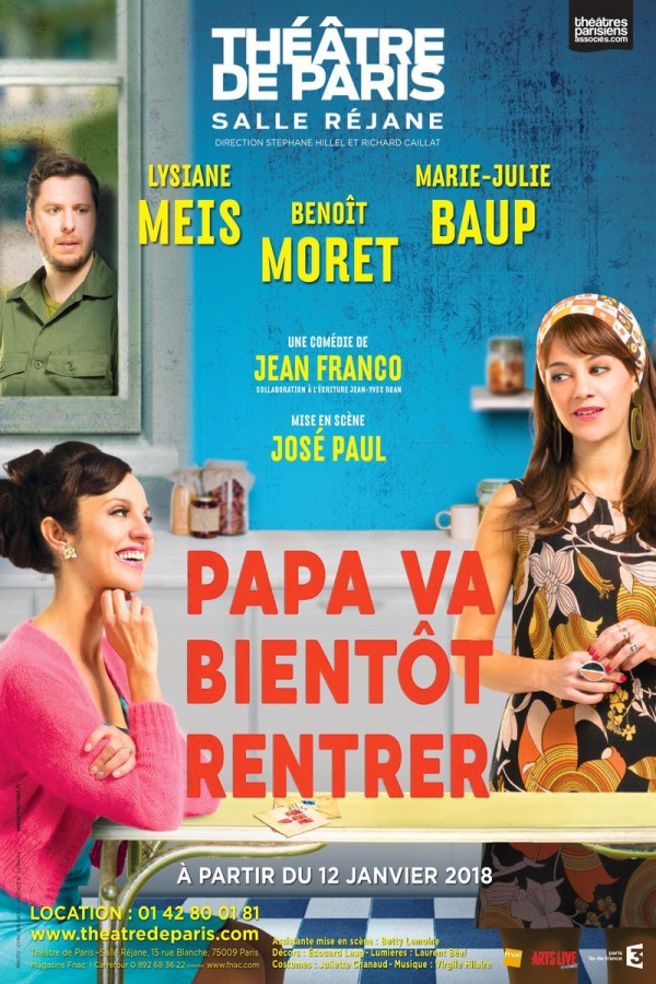 Papa va bientôt rentrer au Théâtre de Paris