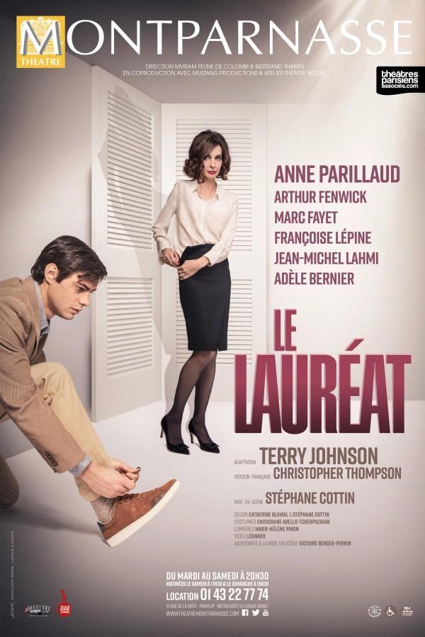 Le Lauréat au Théâtre Montparnasse