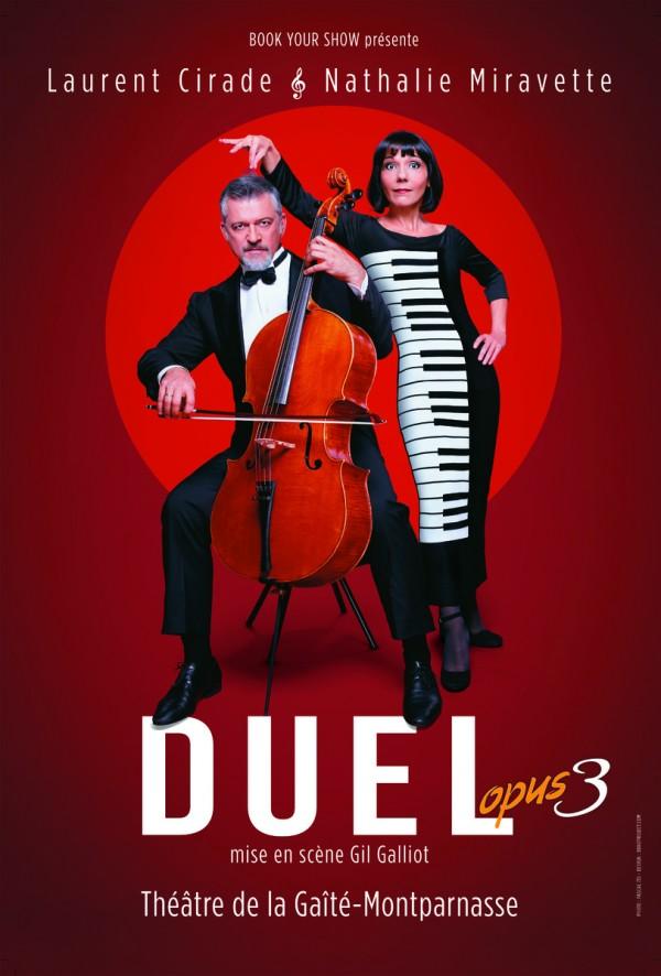 Duel, opus 3 au Théâtre de la Gaîté-Montparnasse