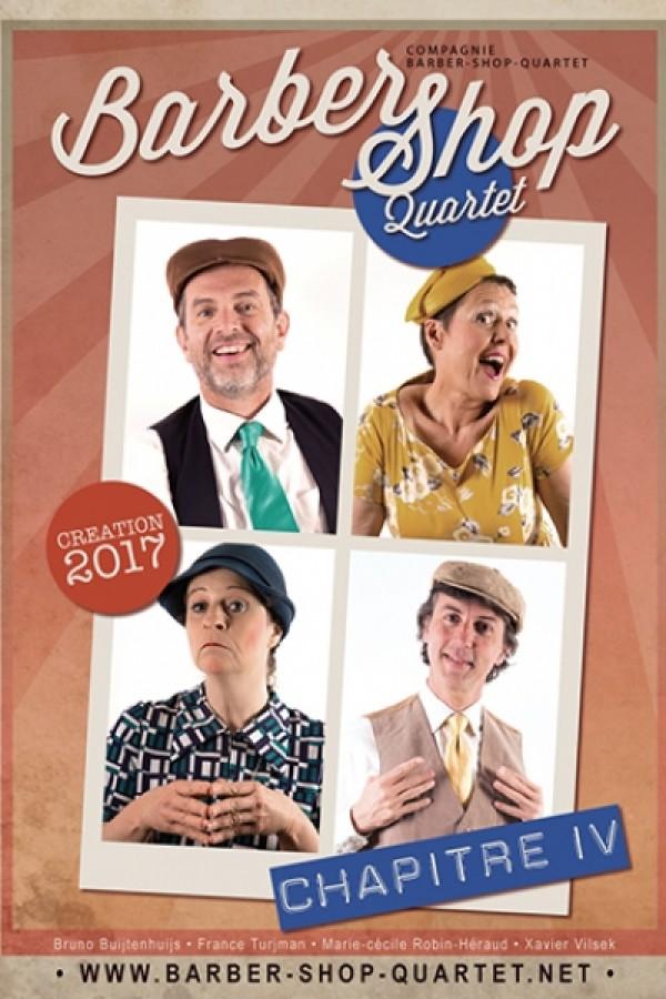 Barber Shop Quartet : Opus 4 au Théâtre L'Essaïon