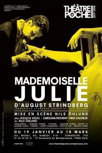 Mademoiselle Julie au Théâtre de Poche-Montparnasse