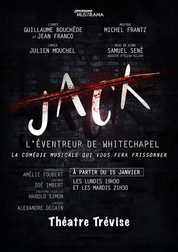 Jack, l'éventreur de Whitechapel au Théâtre Trévise