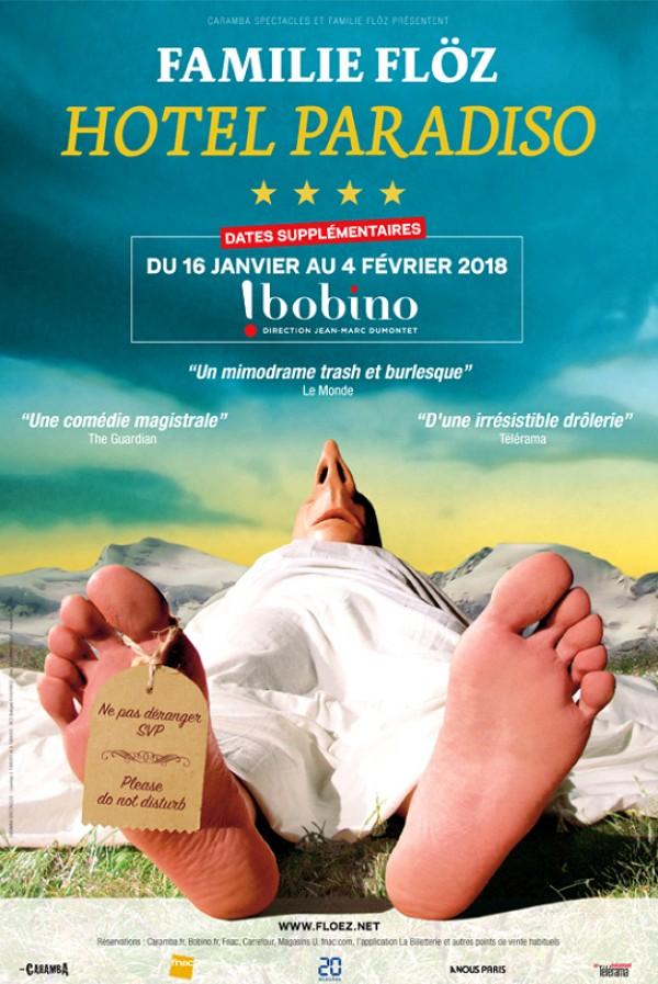 Familie Flöz : Hotel Paradiso à Bobino