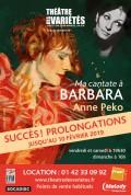 Ma cantate à Barbara au Théâtre des Variétés