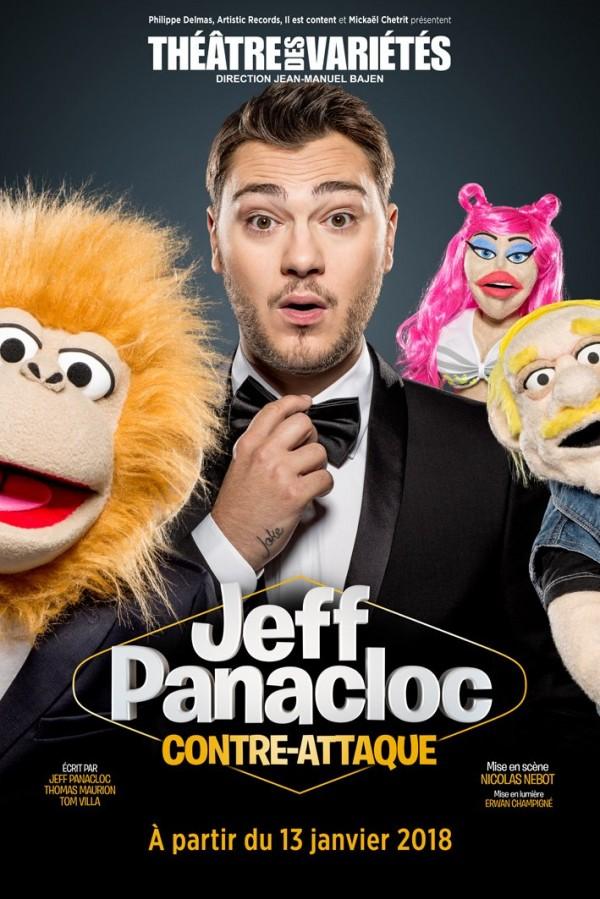 Jeff Panacloc : Contre-attaque au Théâtre des Variétés