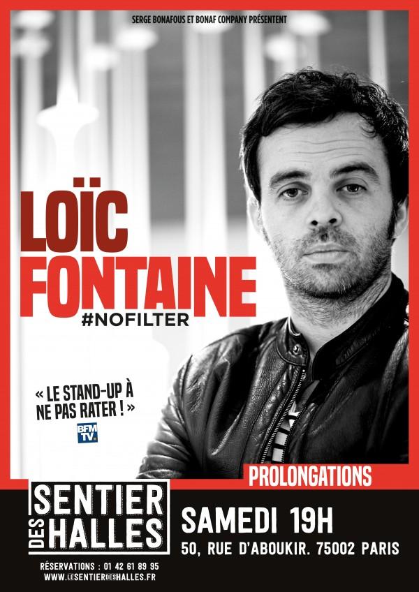 Loïc Fontaine : #nofilter au Sentier des Halles