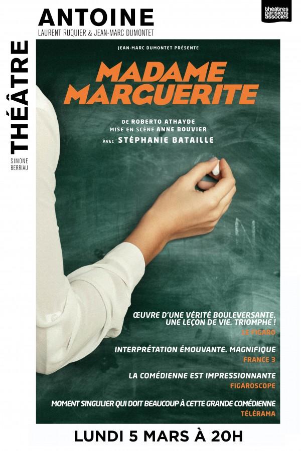 Madame Marguerite au Théâtre Antoine