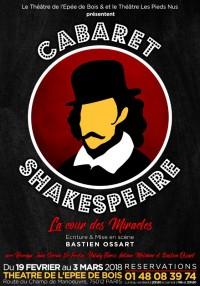 Cabaret Shakespeare au Théâtre de l'Épée de Bois