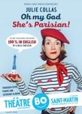 Oh my God, she's Parisian ! au Théâtre BO Saint-Martin