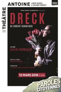 Dreck au Théâtre Antoine