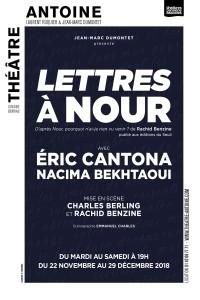 Lettres à Nour au Théâtre Antoine