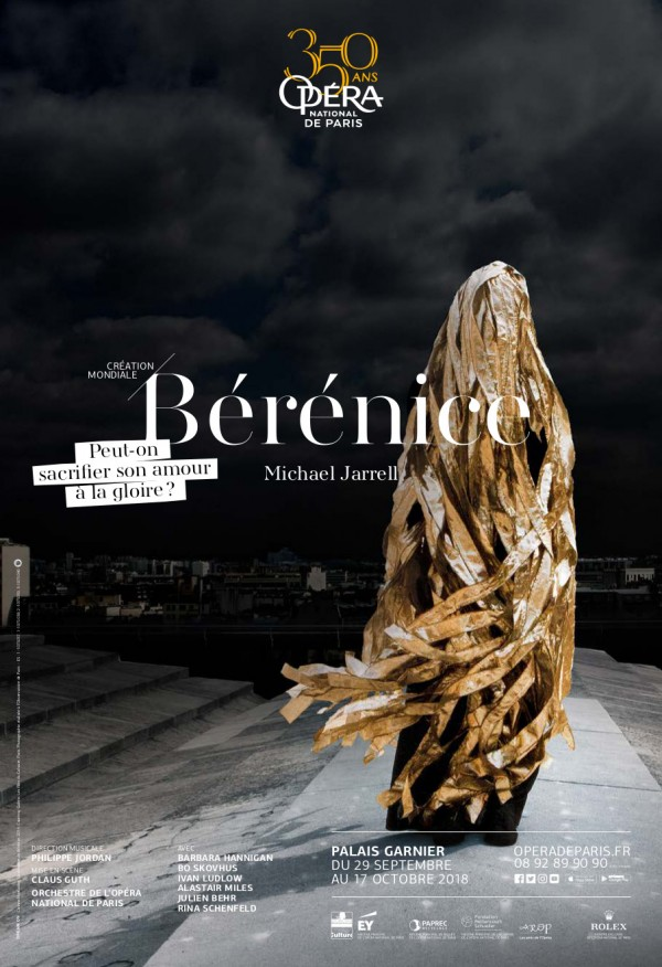 Bérénice à l'Opéra Garnier