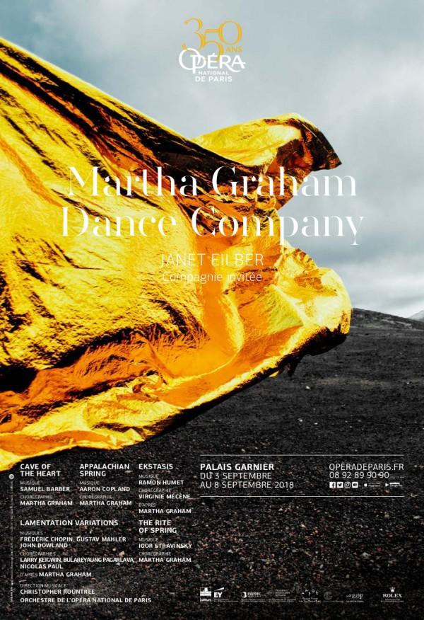 Martha Graham Dance Company à l'Opéra Garnier