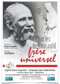 Charles de Foucauld frère universel - Affiche