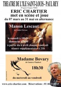 Madame Bovary / Manon Lescaut par Éric Chartier