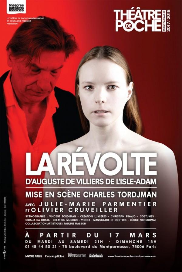 La Révolte au Théâtre de Poche-Montparnasse