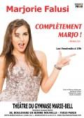 Marjorie Falusi : Complètement Marjo au Théâtre du Gymnase