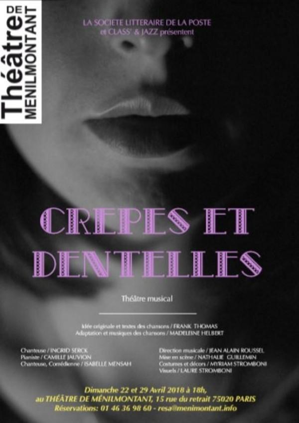 Crêpes et dentelles au Théâtre de Ménilmontant