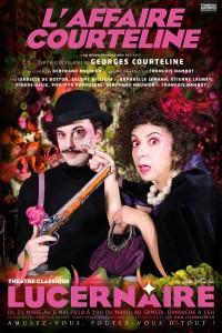 L'Affaire Courteline au Théâtre du Lucernaire