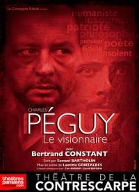 Péguy, le visionnaire au Théâtre de la Contrescarpe