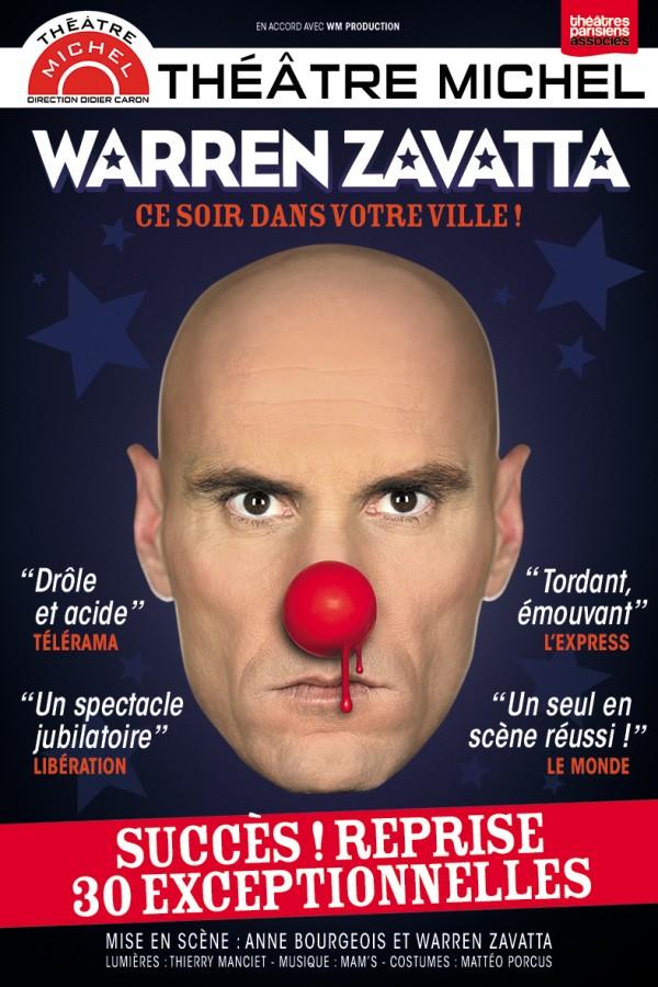 Warren Zavatta : Ce soir dans votre ville ! au Théâtre Michel