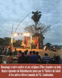 Quatre épisodes du Mahabharata au Théâtre du Soleil