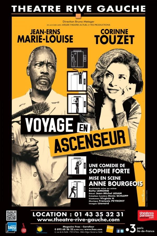 Voyage en ascenseur au Théâtre Rive Gauche