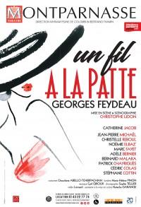 Un fil à la patte au Théâtre Montparnasse