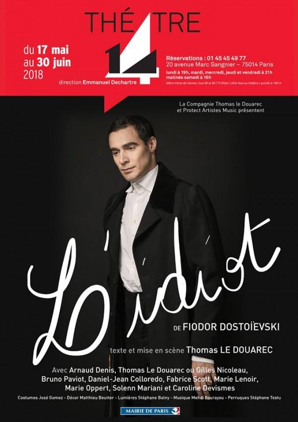 L'Idiot au Théâtre 14 - Jean-Marie-Serreau