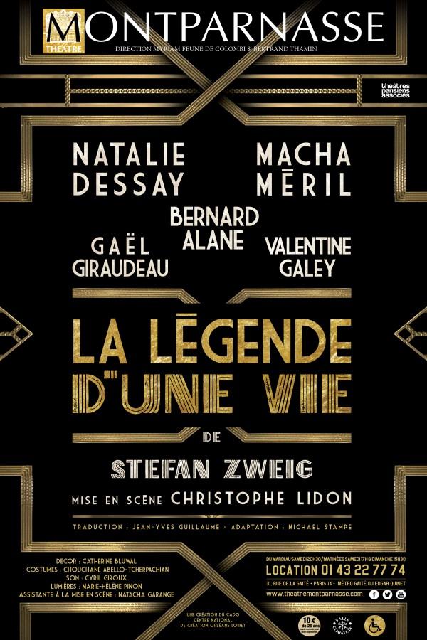 La Légende d'une vie au Théâtre Montparnasse