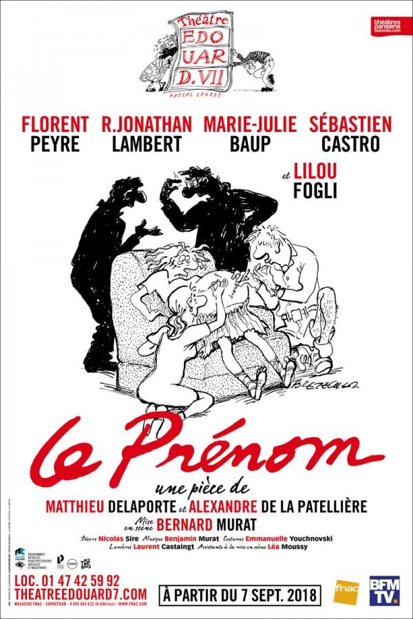 Le Prénom au Théâtre Édouard VII