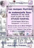 Les Musiques illustrées de mademoiselle Rose au Studio Raspail