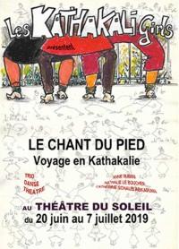 Le Chant du pied, voyage en Kathakalie au Théâtre du Soleil
