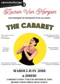 Lauren Van Kempen : The Cabaret à la Comédie Nation