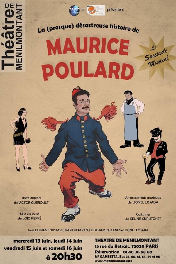 Maurice Poulard au Théâtre de Ménilmontant