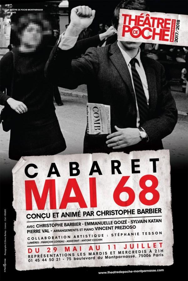 Cabaret Mai 68 au Théâtre de Poche-Montparnasse