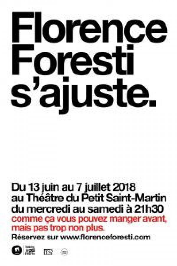 Florence Foresti s'ajuste au Théâtre de la Porte Saint-Martin