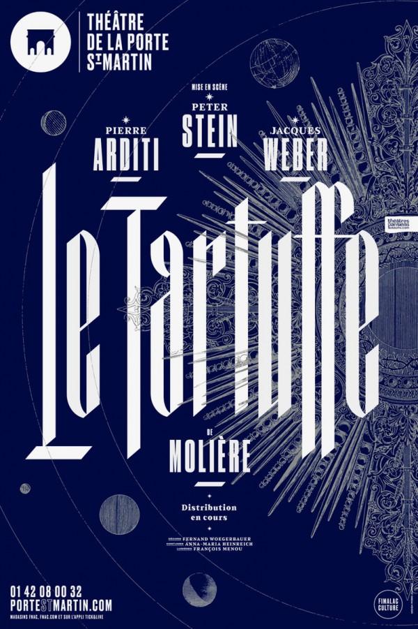 Le Tartuffe au Théâtre de la Porte Saint-Martin