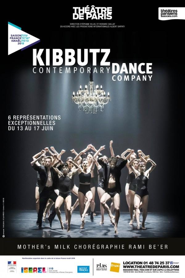 Mother's Milk du Kibbutz Contemporary Dance Company au Théâtre de Paris