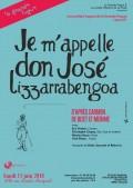 Je m'appelle don José de Lizarrabengoa au Studio Raspail