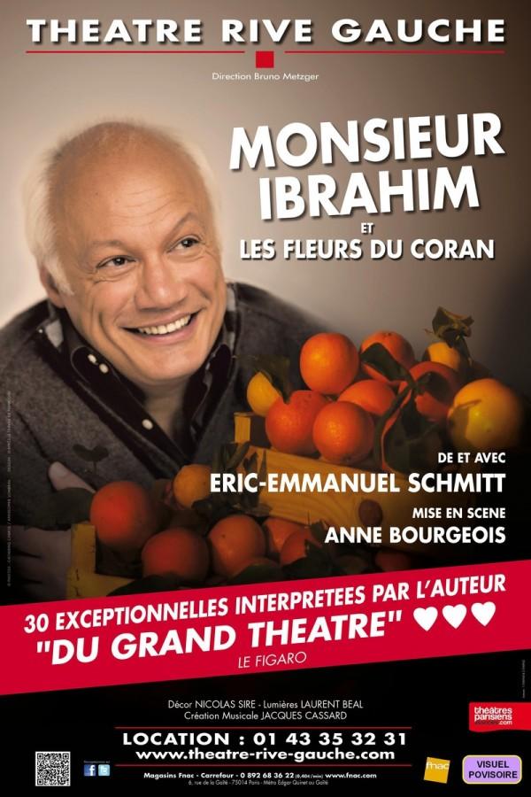 Monsieur Ibrahim et les fleurs du Coran au Théâtre Rive Gauche