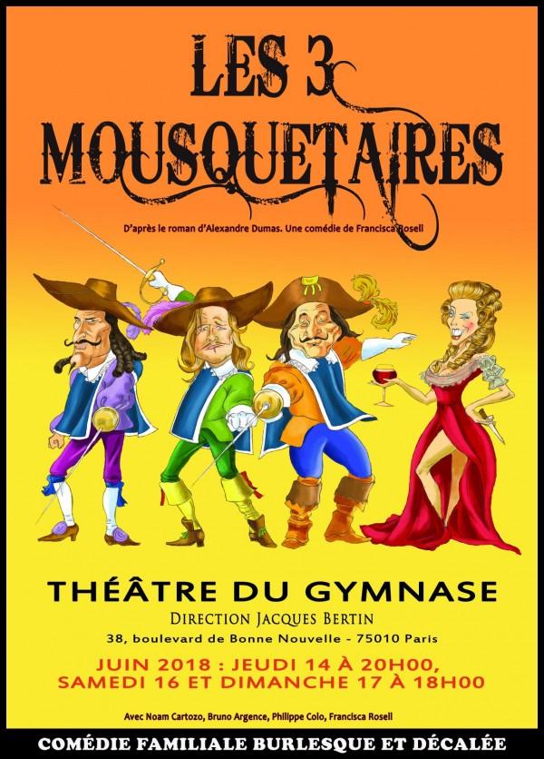 Les Trois Mousquetaires au Théâtre du Gymnase