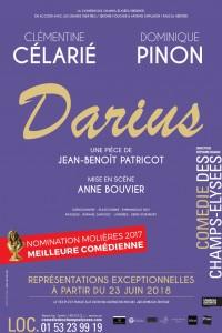 Darius à la Comédie des Champs-Élysées