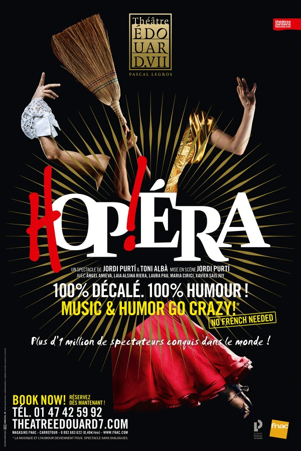 Hop!éra au Théâtre Édouard VII