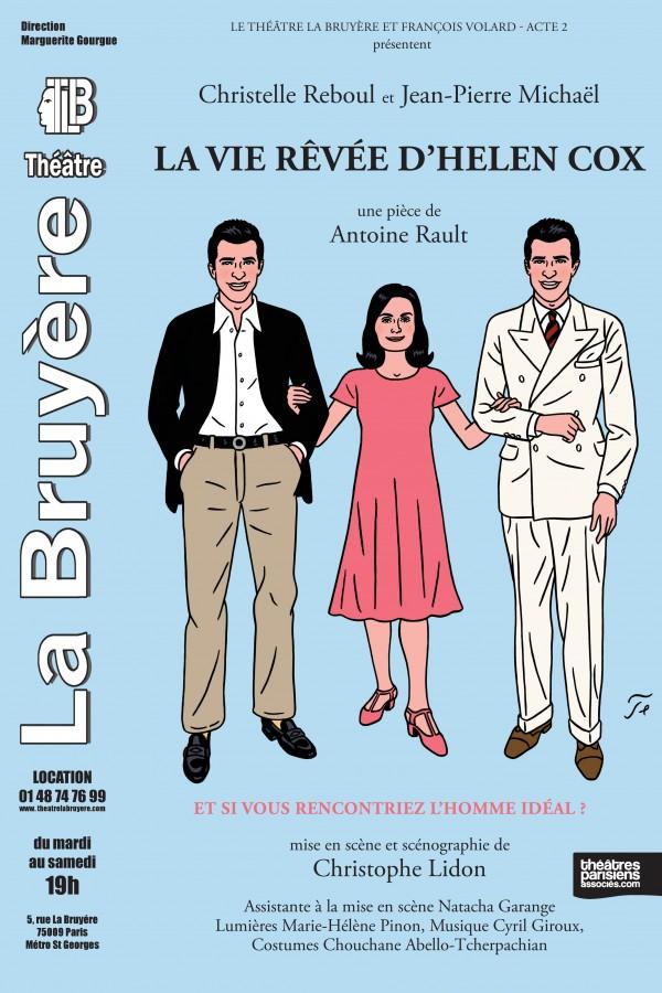 La Vie rêvée d'Helen Cox au Théâtre La Bruyère